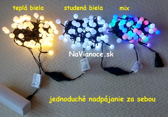 osvetlenie vianoèné žiarovky LED